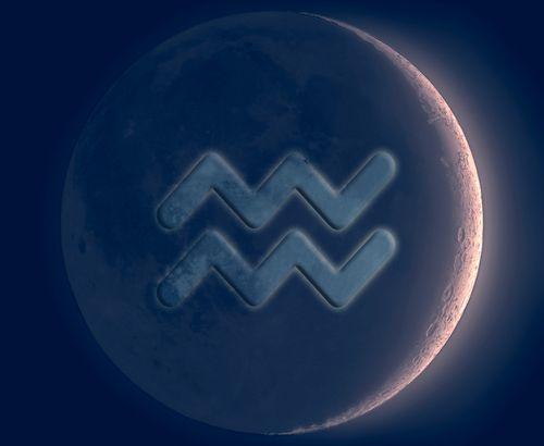 Resultado de imagem para new moon aquarius