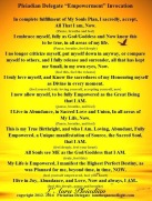 Empowerment Invocation