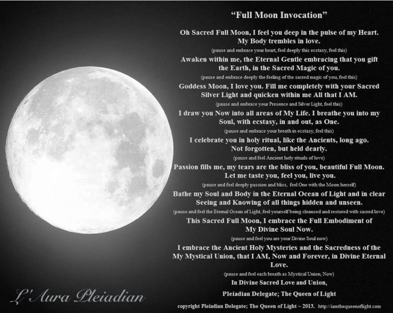 Full Moon Invocation