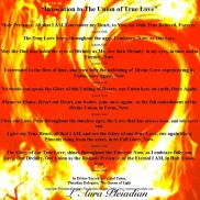 Invocation To The Union of True Love