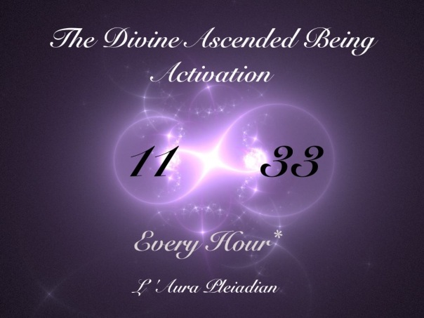 The Divine Ascended Being Activation